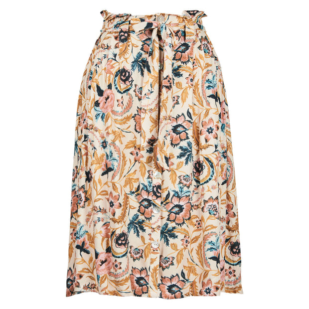Eb & Ive Siela Skirt - Buff Botanical