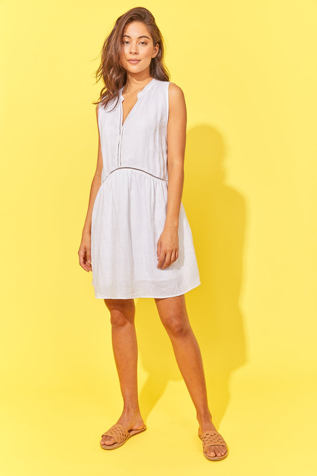 Haven Palma Dress - White