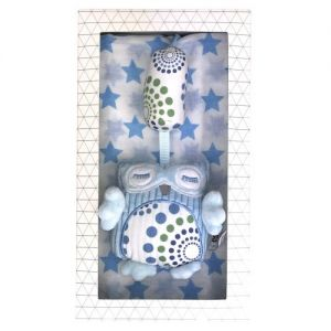ES Kids Gift Box - Blue Chime and Muslin Wrap
