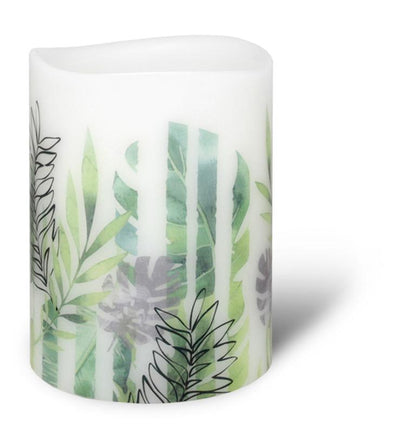 LED Mimosa Stripe Candle 3'x4' by Enjoy Lighting