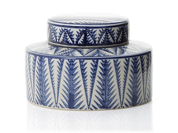 Hermes Moroccan Squat Ginger Jar Blue