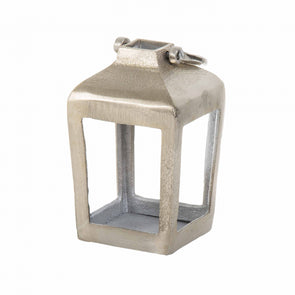 Nickel Tealight Casting Lantern