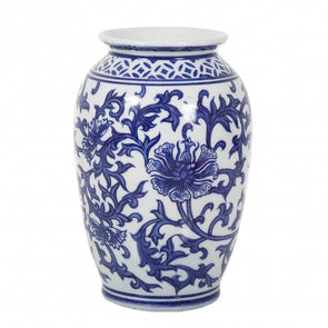 Blue & White Small Vanda Vase
