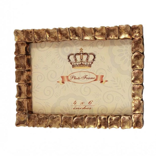 Gold Turtle Picture Frame Gold 4'x6'