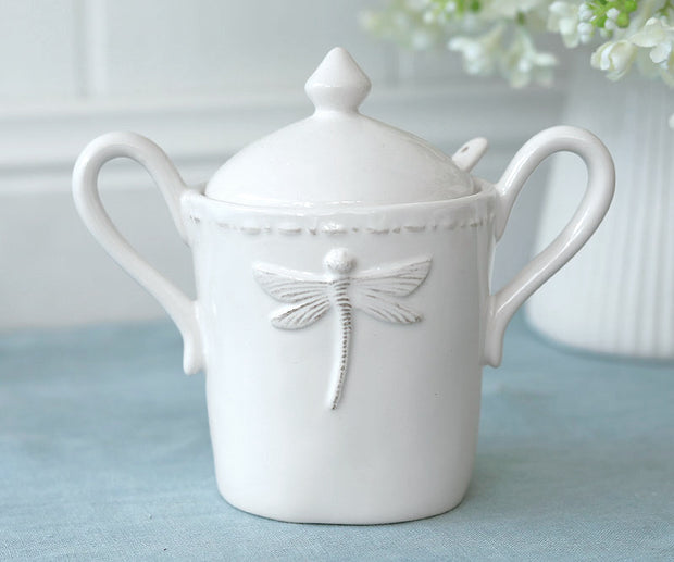 Dragonfly Sugar Jar by French Country