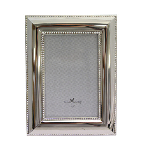 Silver Pearl Photo Frame 6'x4'