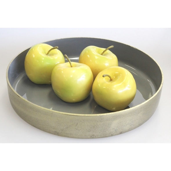 Gold and Grey Tray 37cm