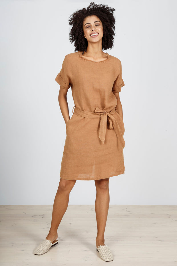 Coasting Dress - Tan by Brave & True