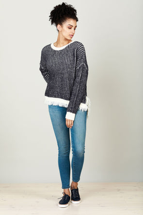 Winter Tide Knit - Indigo by Brave & True