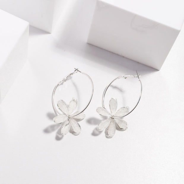 Blooming Earrings - Clear