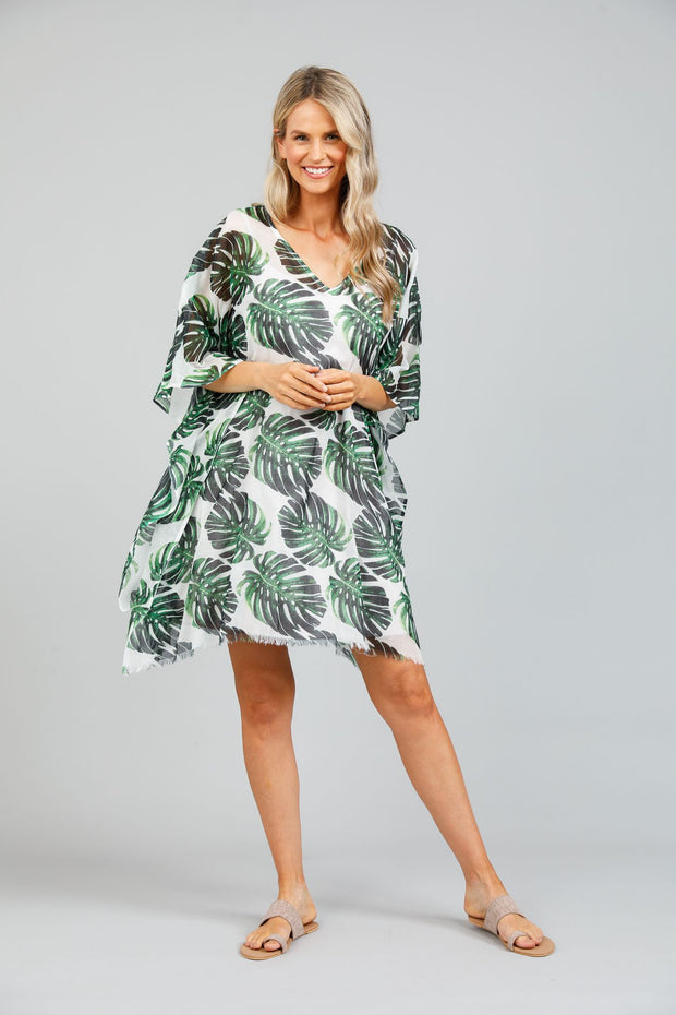 Holiday Monsteria Paradise Kaftan