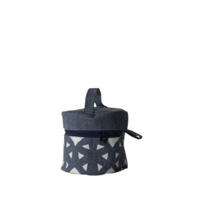Cartwheel Small Round Makeup Bag
