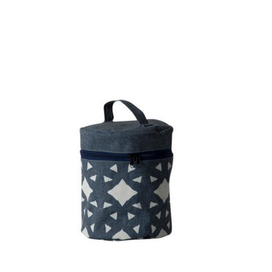 Cartwheel Large Round Makeup Bag