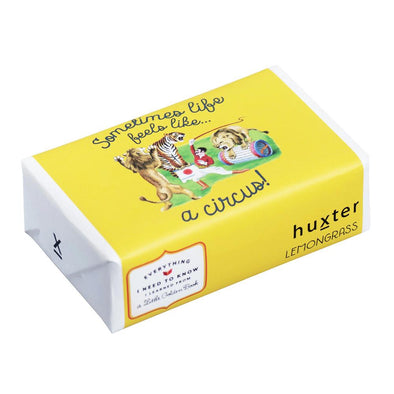 Huxter Sometimes Life Feels Like a Circus - Wrapped Fragranced Soap