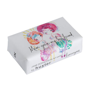 Huxter Mum Your My Best Friend - Wrapped Fragranced Soap