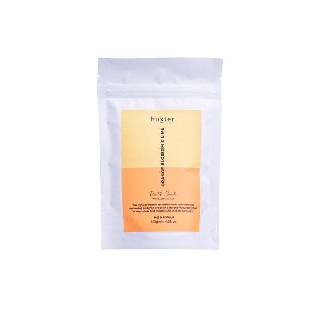 Huxter Bath Soak 120g - Orange Blossom & Lime