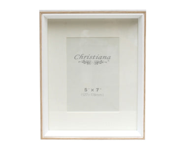 Natural & White Frame 20x25cm