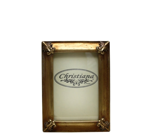 Antique Gold Photo Frame 10cm x 15cm