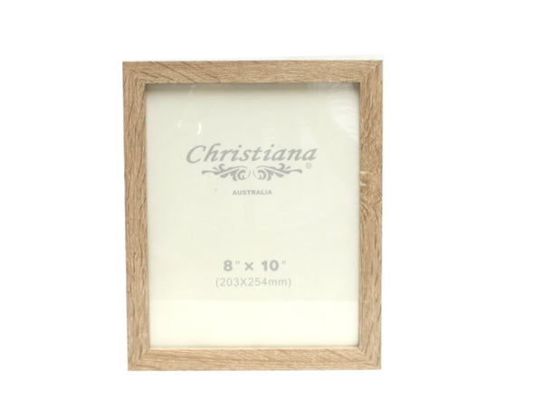 Wood Grain Photo Frame 20x25cm