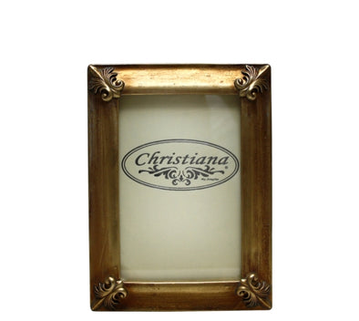 Antique Gold Photo Frame 13cm x 18cm
