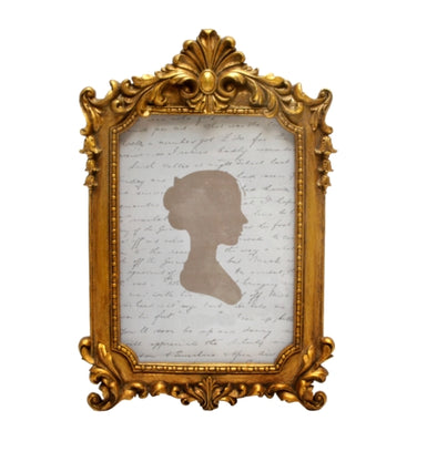 Gold Baroque Photo Frame