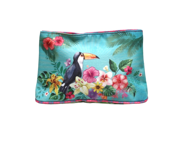 Small Cosmetic Pouch - Toucan
