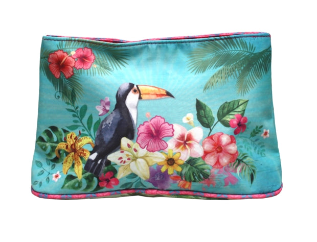 Large Cosmetic Pouch - Toucan