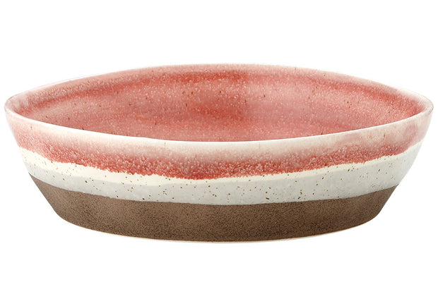 Graze Red Medium Bowl by Ladelle