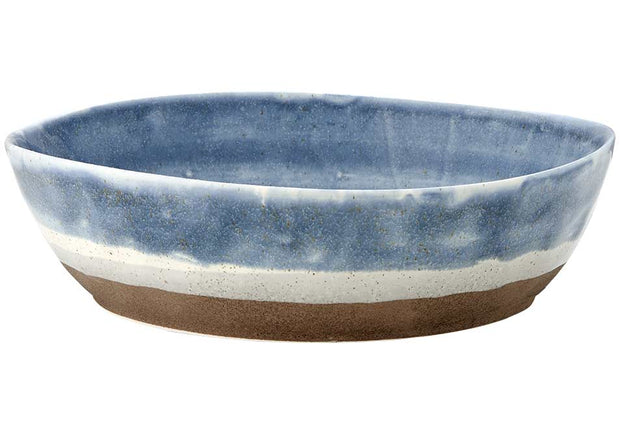 Graze Blue Large Bowl by Ladelle