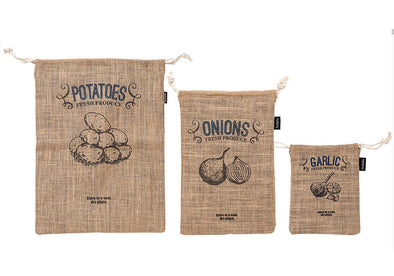 Jute Produce Bag Set
