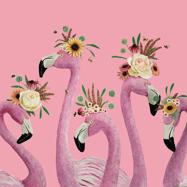 Mini Card - Flamingo Ladies