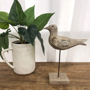 Wooden Tiwi Gull on Stand