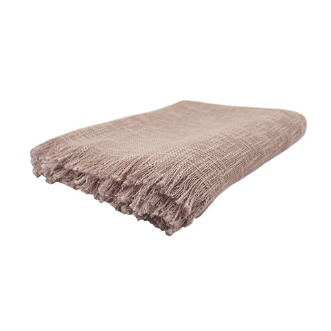 Faded Rose Throw 130x150cm