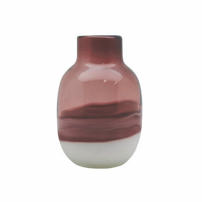 Small Madura Plum Glass Vase by Madras Link Homewares