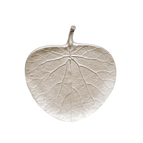 Gum Leaf Silver Ornament Dish by Madras Link Homewares