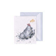 Mini Card - Mother Hen