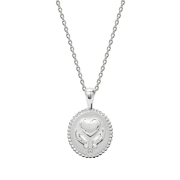 Murkani Healing Hands Necklace - Stirling Silver