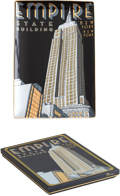Empire State Building Ceramic Tray