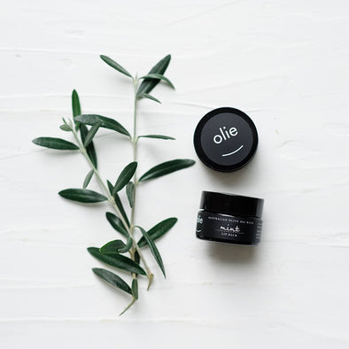 Olieve & Olie Lip Palm - Peppermint Lemon & Tea Tree