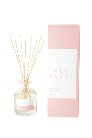 White Rose & Jasmine Fragrance Diffuser by the Palm Beach Collection