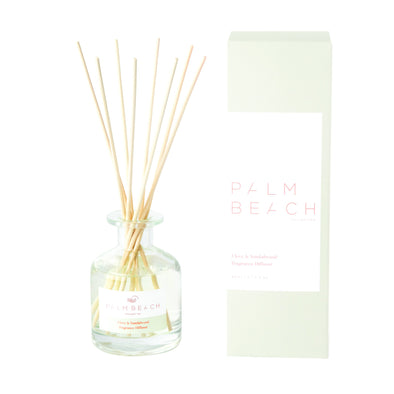 Clove & Sandalwood Mini Diffuser by the Palm Beach Collection