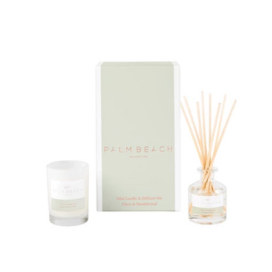 Clove & Sandalwood Mini Diffuser & Candle Pack