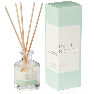 Sea Salt Mini Fragrance Diffuser by the Palm Beach Collection