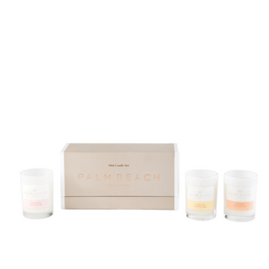 3 Mini Candle Gift Pack by Palm Beach