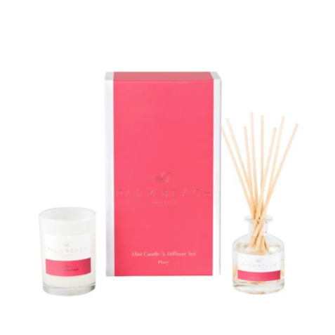 Palm Beach Posy Mini Diffuser & Candle Gift Pack