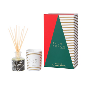 Palm Beach Balsam & Fir Mini Candle & Diffuser Gift Pack