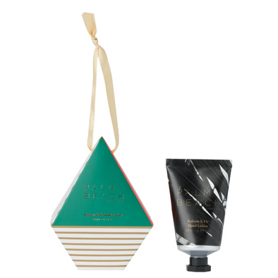 Palm Beach Balsam & Fir Hand Lotion Bauble