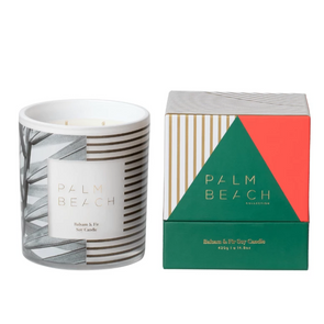 Palm Beach Balsam & Fir Soy Candle