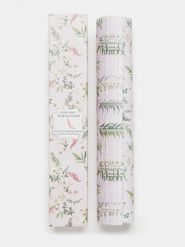 Pear Blossom Scented Drawer Liners