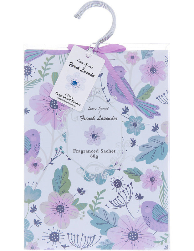 Liberty Bloom French Lavender Scented Hanging Sachet
